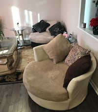 Large Swivel Accent Chairs