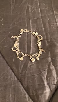 Sterling silver charm bracelet Perry Hall, 21128