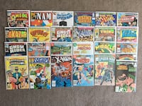 Lot of 25 1980s Various Marvel & DC Comics -Great Deal! Fort McMurray, T9J 1G5