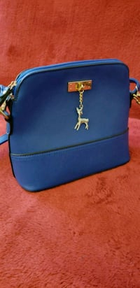 Blue leather purse-small San Francisco, 94121