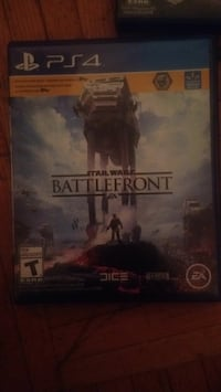Sony PS4 Star Wars Battlefront game case Toronto, M1H 2Y6