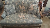 "48"" vintage loveseat"