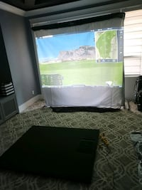 Optishot 2 golf in a box 3 excluding projector