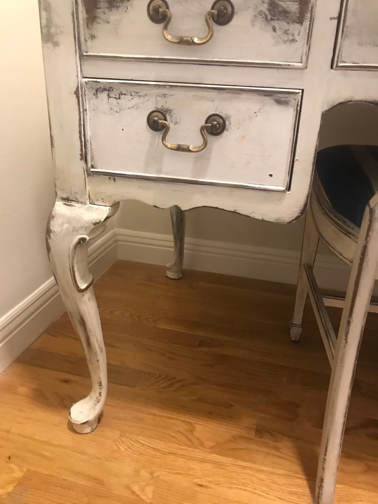 Shabby Chic Desk And Chair (sell By 9/23)