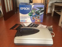 Scanner EPSON perfection per carta e diapositive. Con imballaggio originale 7287 km