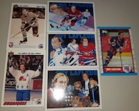 6 Single Cards of Guy LaFleur... $5 Firm For All 6 Cards Calgary