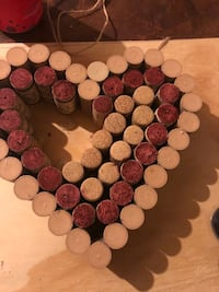 Heart made from wine corks and twine Baltimore, 21230
