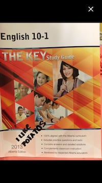 English 10-1 the key study guide book