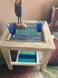 Solid wood side table / coffee table Albuquerque