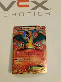 Rare charzard card used Toronto, M6N 4L2