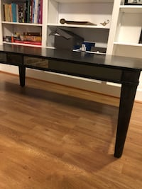 Black espresso coffee table and couch table Houston, 77066
