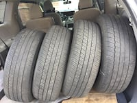 See of 4 all season Dunlop good condition size  [PHONE NUMBER HIDDEN] 5% tread left