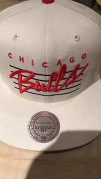 white Chicago Bulls sports snapback Burlington, L7M