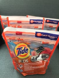 Tide pods 12 count x 4 Kensington, 20895