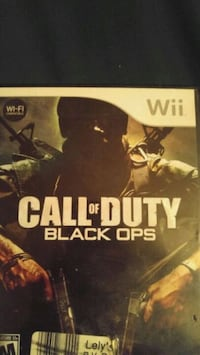 Cod black ops for wii Vancouver, V5N 1H3