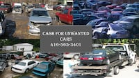 Cash for Unwanted Cars Brampton
