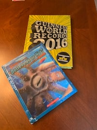 Hardcover Guinness World Records & Ripley's Believe It or Not