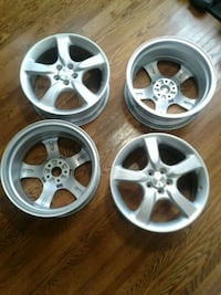 Subaru alloy rims Meaford
