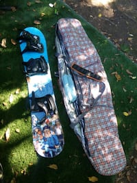 Burton Chopper 126 Snowboard with bindings and case Hellertown, 18055