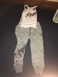 Brand new Victoria's Secret outfit pants are large top is a medium Toledo