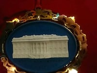 White House Historical Ornament Fort Collins