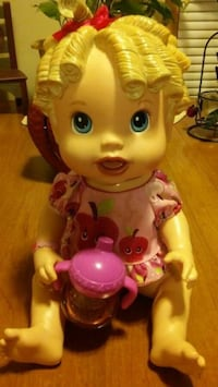 ORIGINAL BABY ALIVE WITH SIPPY CUP