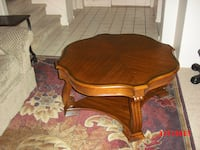 Coffee table, mahogany, like new, rarely used. Las Vegas