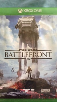 Xbox one Star Wars battlefront game case