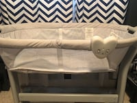 white and gray fabric padded bench 548 km