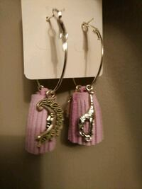 New Earrings Tassels, hoop combinations Mississauga, L4T 3L6