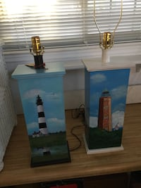 Wood lamps with light house  Virginia Beach, 23462