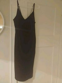 Dex womens velvet dress: charcoal/black Toronto, M6P 1S3