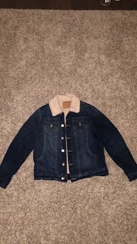 True religion denim jacket(large) Chestermere, T1X 0R2