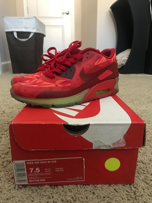 cheap for discount 8071a 4ed9d Used Nike Air Max 90 - Gym Red size 7.5 for sale in Dublin - letgo