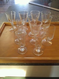 clear glass pitcher and drinking glasses Laval, H7W 2R8
