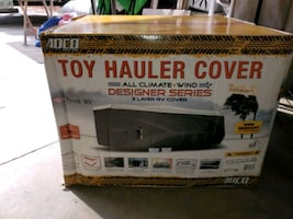 BRAND NEW CAMPER /TOY HAULER COVER!
