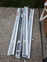 four set of window blinds