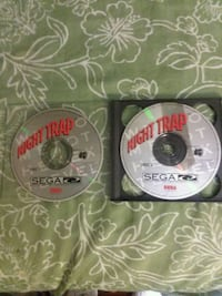 Vintage Sega cd night trap video game  Colonial Heights, 23834