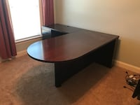 black and brown wooden computer desk Franklin, 37064