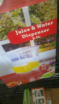 Juice and water dispenser  Visalia