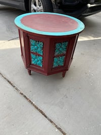 Cute side table with storage