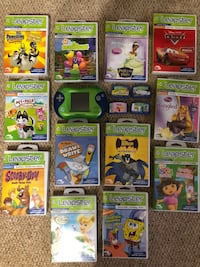 Leap frog leapster and 16 games Findlay, 45840