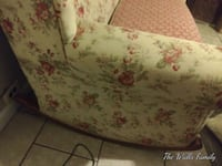 Couch antique rocker couch.matching love seat to go with it