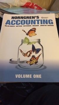 Horngren's Accounting book