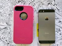 Pink and black Otter Box got iPhone 5 and iPhone 5 Oakdale, 95361