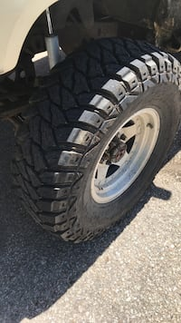 Trade 32 inch mud terrains for 30 or 31 all terrains.