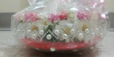Glass vase I make home decoration and sell them