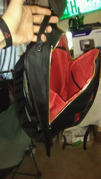 red and black golf bag Augusta, 30907