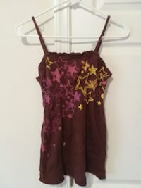 women's red and black floral spaghetti strap dress Martinsburg