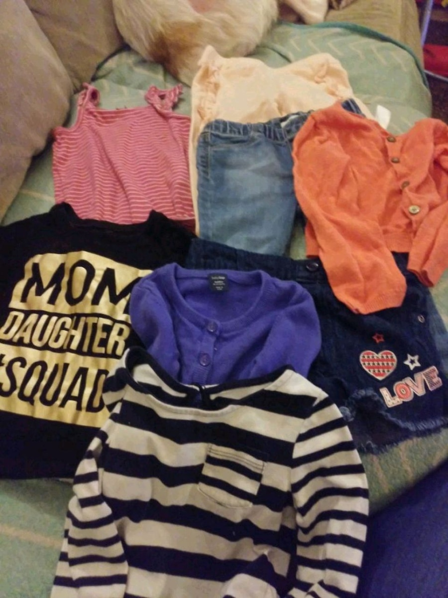 Photo Lot of 18-24 month girl clothes
